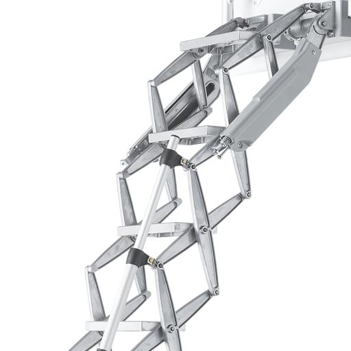 Elite heavy duty commercial loft ladders