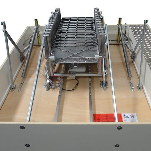 Bespoke heavy duty retractable loft ladder