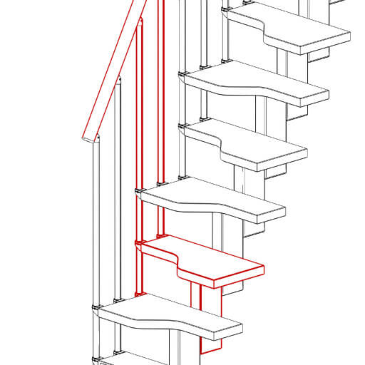 Premier Loft Ladders Compatta Space Saving Stairs