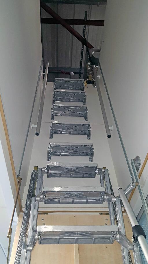 suspended ceiling hatch loft ladder premier loft ladders. Black Bedroom Furniture Sets. Home Design Ideas