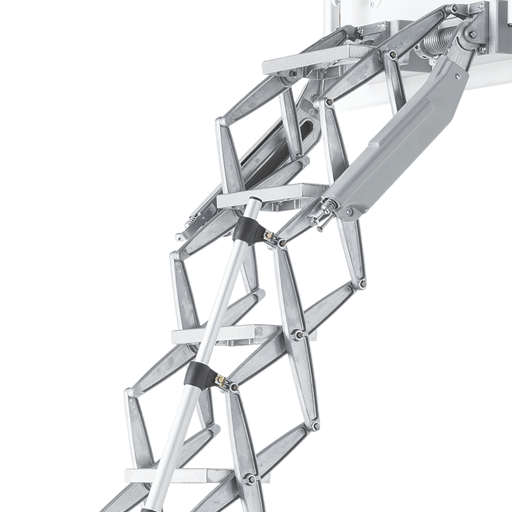 Elite heavy duty commercial grade attic ladders