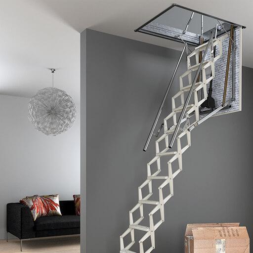 Escalmatic electric loft ladder from Premier Loft Ladders