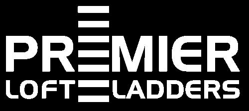 Premier Loft Ladders - White Logo