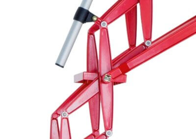 red-powder-coated-ladder
