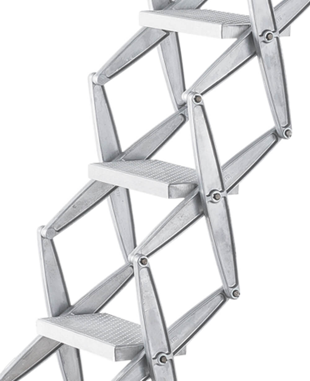 Heavy duty concertina loft ladder