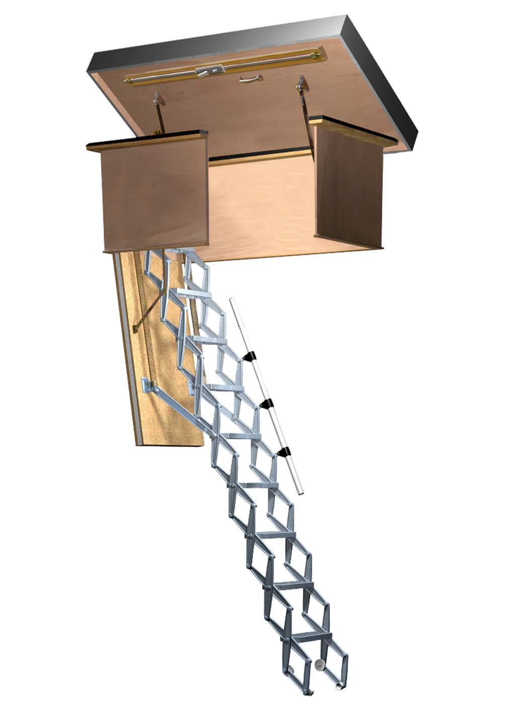 Supreme Heavy Duty Loft Ladder Premier Loft Ladders