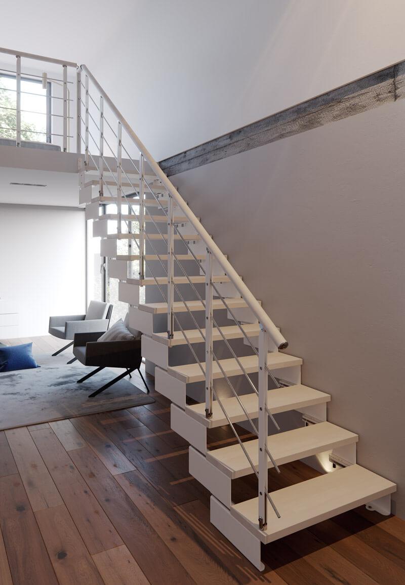 Premier Loft Ladders Composity Modular Staircase