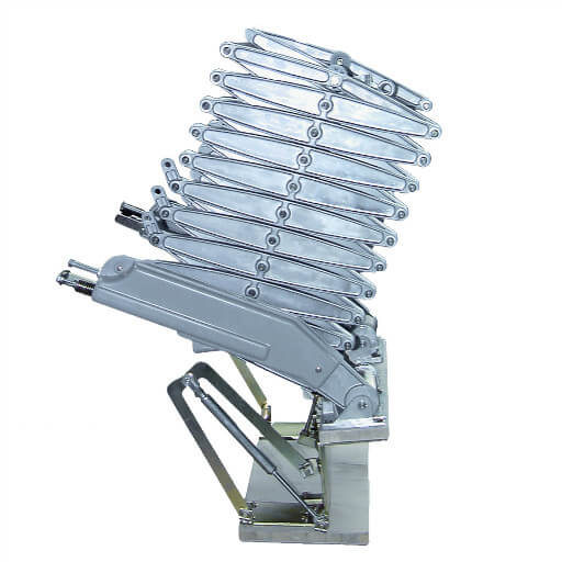 Elite Vertical Loft Ladder. Heavy duty loft ladder for wall hatch or mezzanine. Premier Loft Ladders