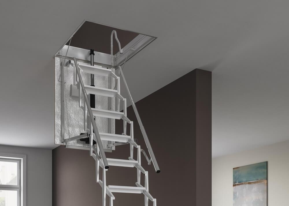 Electric Loft Ladder. From Premier Loft Ladders
