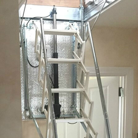 Escalmatic motorised loft ladder application photo - Premier Loft Ladders