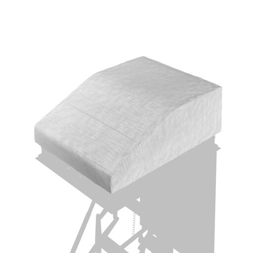 Patented Thermocover for additional insulation of Escalmatic electric loft ladder