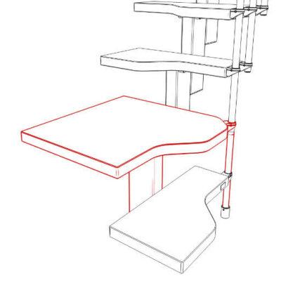Compatta space saving platform kit