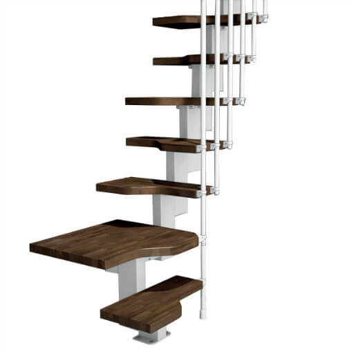 Compatta space saving stairs
