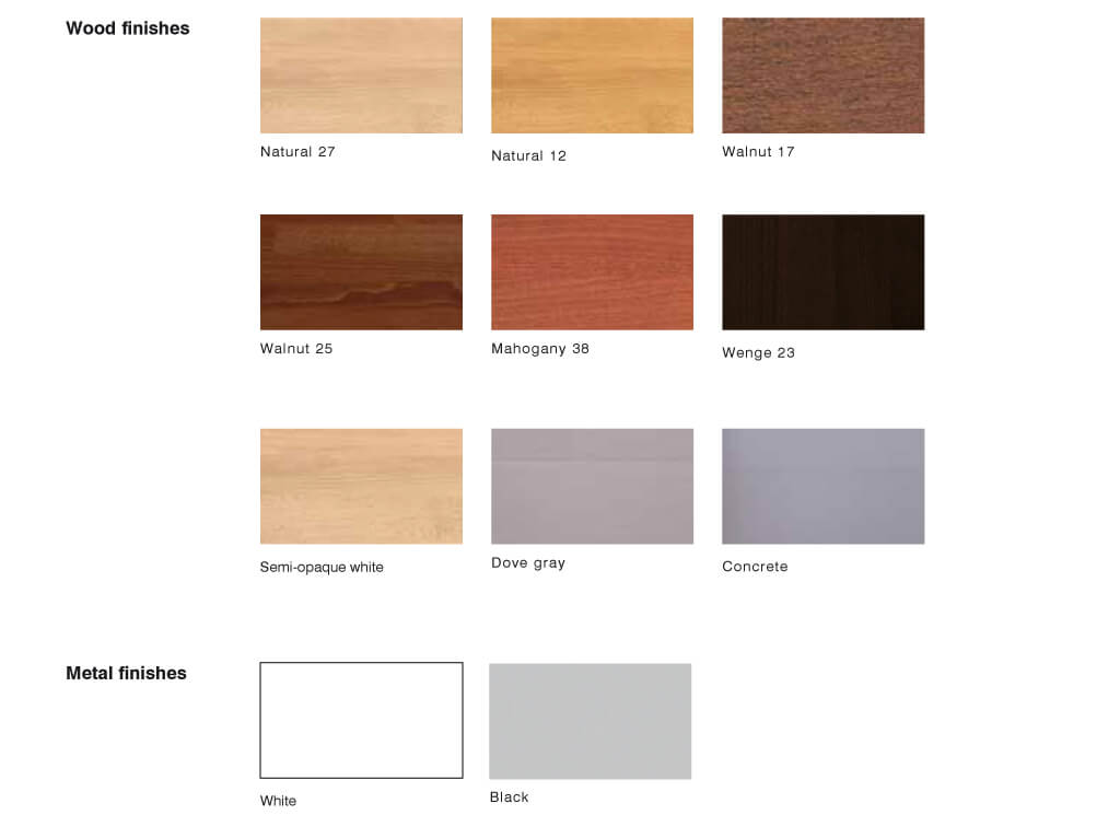 Composity modular staircase wood and metal finish options