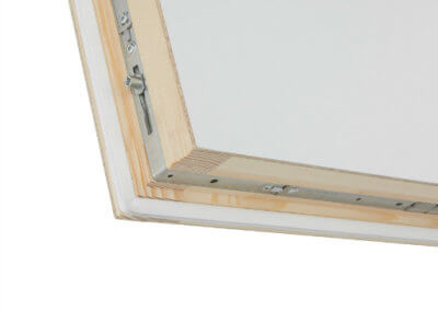 Designo insulated loft hatch and ladder with 6-point locking mechanism for air tight seal