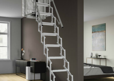 Escalmatic electric loft ladder