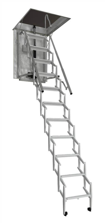 Escalmatic electric concertina loft ladder. Premier Loft Ladders