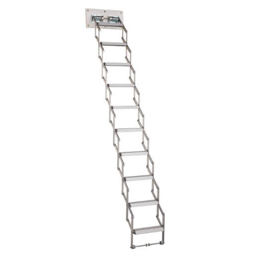 Piccolo Premium Loft Ladder. Ideal for small ceiling openings. Easy to operate