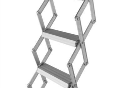 Compact and lightweight, concertina loft ladders. Premier Loft Ladders