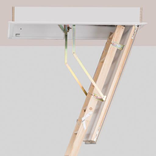Quadro Wooden Loft Ladder Premier Loft Ladders