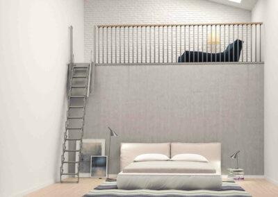 UP mezzanine ladder