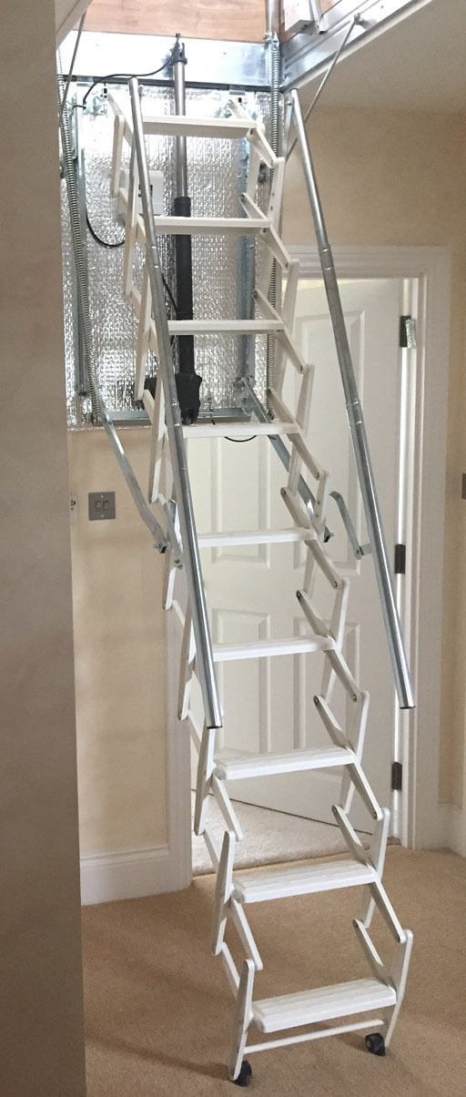 Escalmatic motorised loft ladder application photo_Premier Loft Ladders