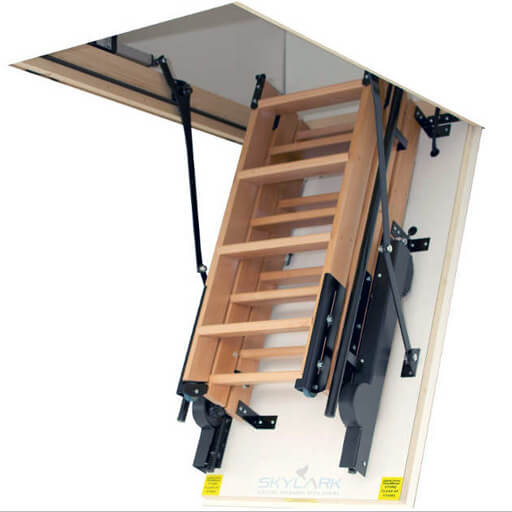 Skylark Electric Folding Attic Stairs Premier Loft Ladders