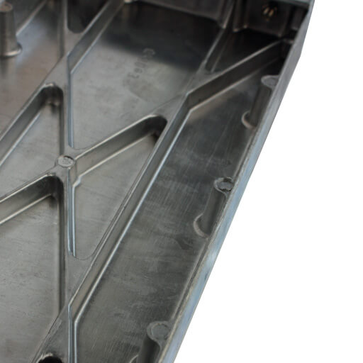 Elite loft ladder tread. Cast aluminium. Premier Loft Ladders