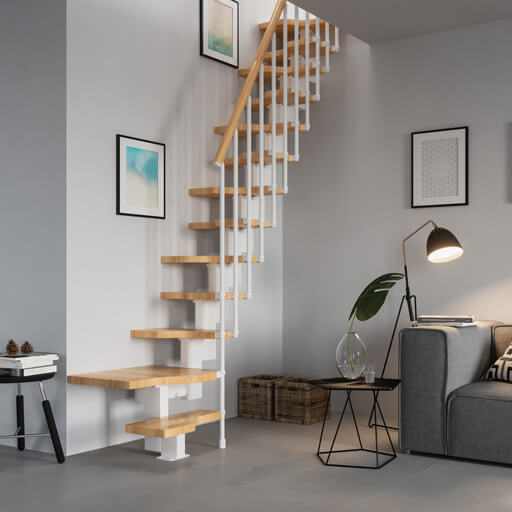 Space Saving Staircase Designs: Domestic Loft Ladders & Staircases