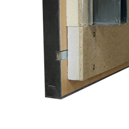 Fire protection hatch seal. Supreme F30 fire resistant loft ladder with wooden hatch. From premier Loft Ladders
