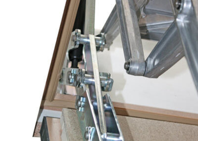 Supreme F30 features concealed hinge for fire protection and improved aesthetics. Premier Loft Ladders