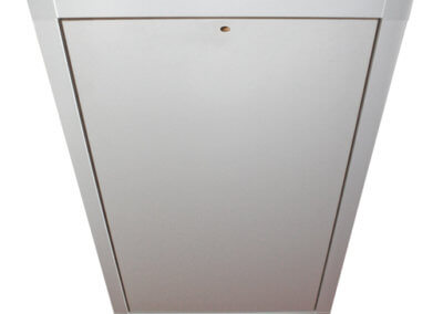 MiniLine wooden fire rated Loft hatch. Made-to-measure, insulated and airtight. From Premier Loft Ladders
