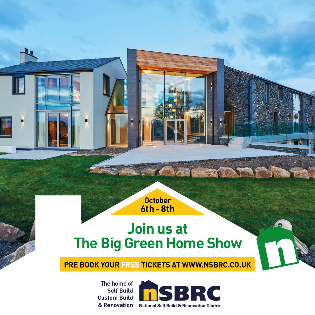 The Big Green Home Show 2017. Visit Premier Loft Ladders on stand 168