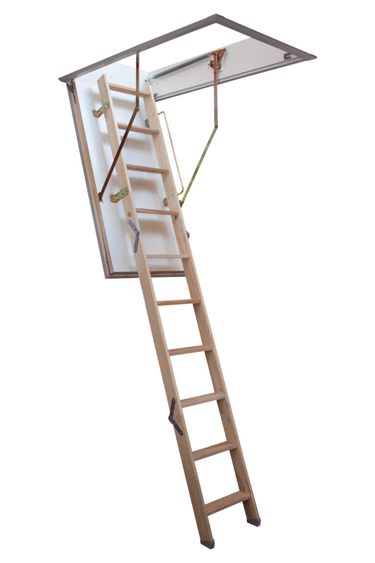 Quadro insulated loft access hatch and ladder