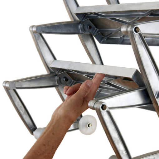 Easy to operate loft ladder. Supreme and Elite from Premier Loft Ladders