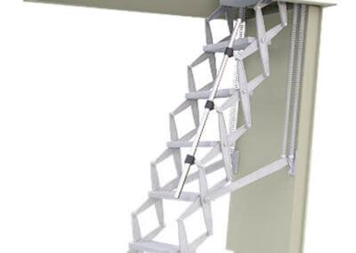 Supreme Steel fire rated loft ladder. Premier Loft Ladders