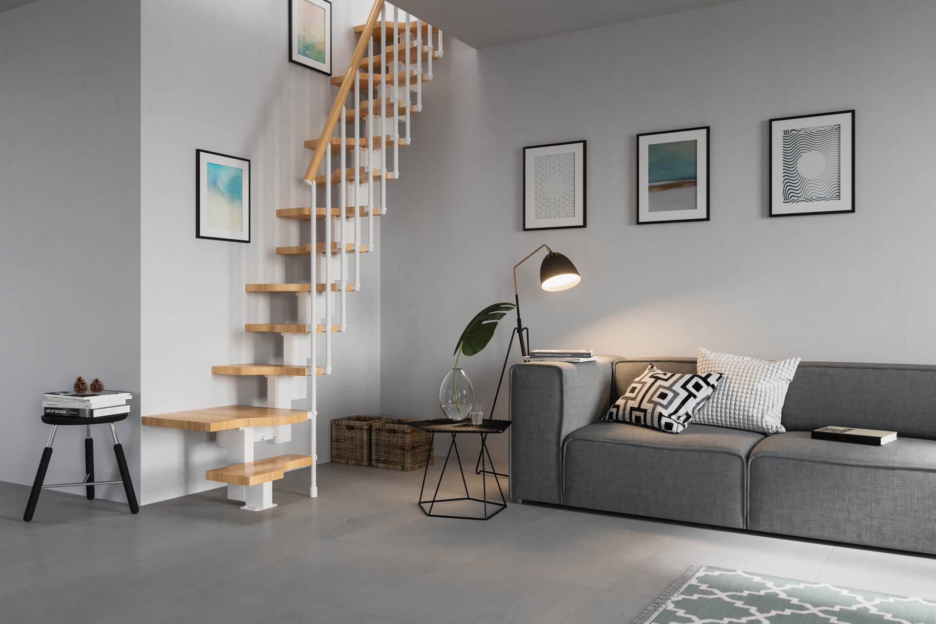 Loft Stairs Space Saving Solutions From Premier Loft Ladders