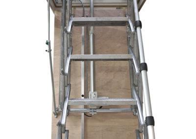 Custom loft hatch with electric ladder_512x768
