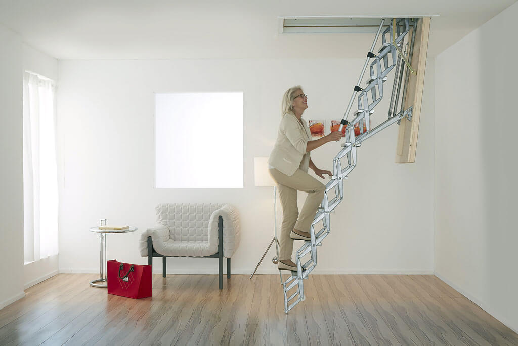 BS EN 14975 ensures that loft ladders, such as the Supreme, are safe to use