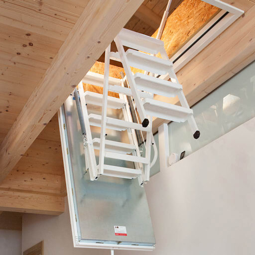 Isotec Attic ladder_half closed_512x512