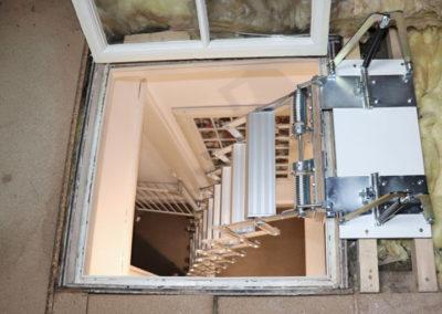 Piccolo Premium Vertical for glass loft hatch