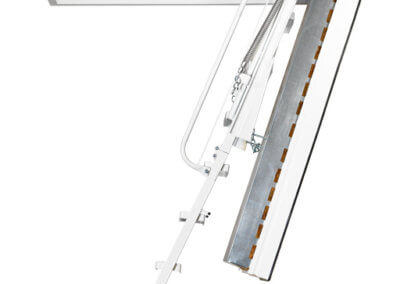 Heavy duty loft ladder. Isotec 200 from Premier Loft Ladders. Fire rated up to 60 minutes.