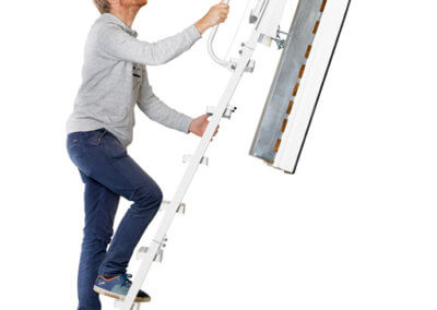 Isotec 200 heavy duty loft ladder. Highly insulated with 60 min fire protection. Available from Premier Loft Ladders