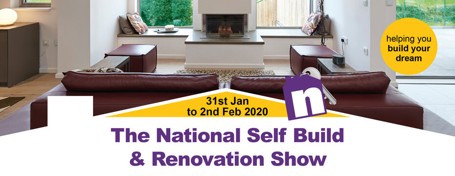 The National Self Build & Renovation Show January 2020. Visit Premier Loft Ladders on stand 168