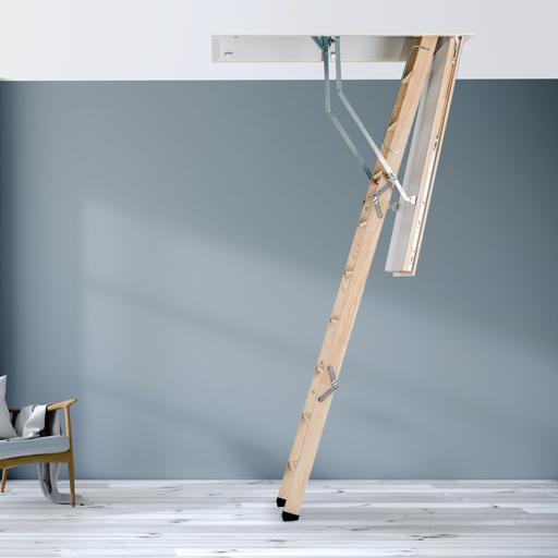 Designo Passivhaus certified loft ladder