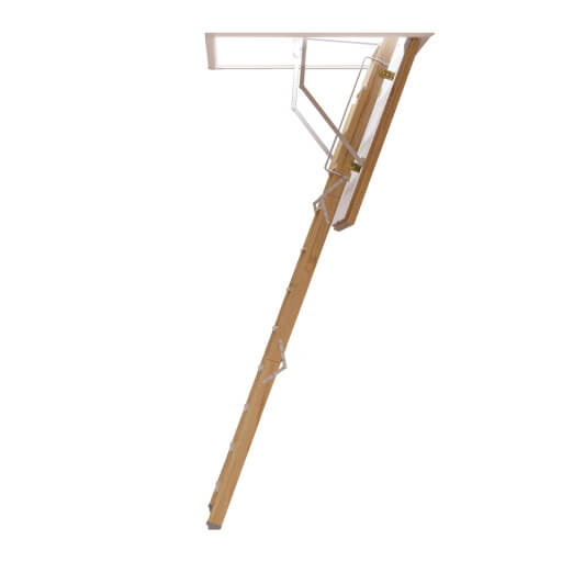Fire rated wooden loft ladder. The ProfiLine from Premier Loft Ladders