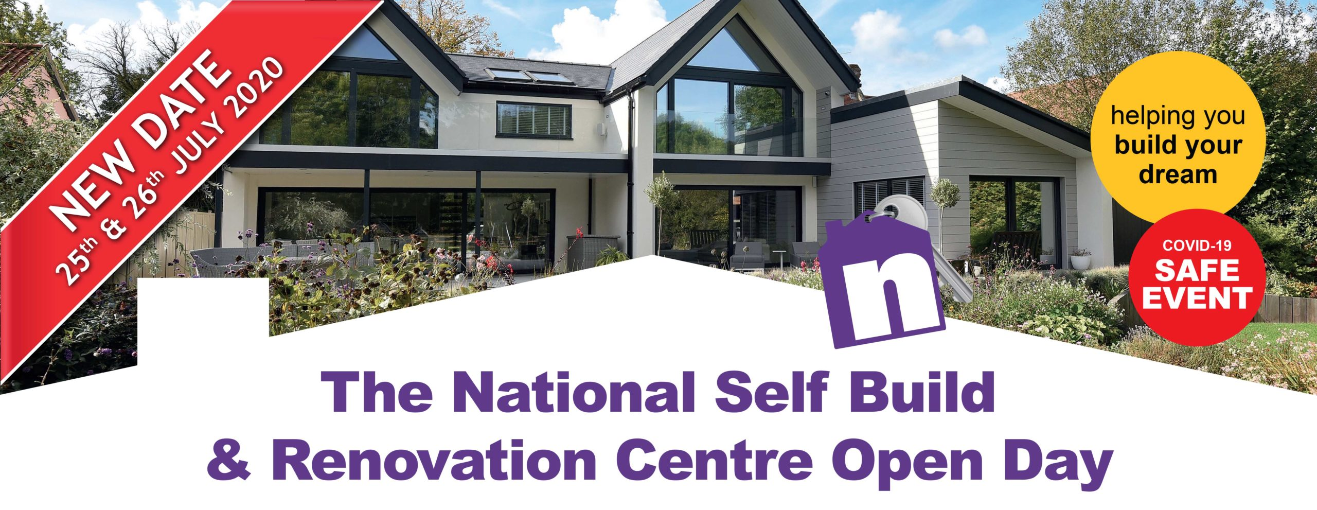 National Self Build and Renovation Open Day July 2020. Visit Premier Loft Ladders on stand 168