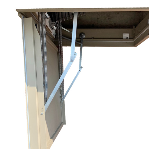 Steel fire rated loft hatch. 30, 60 or 90 minute fire resistance. Heavy duty. Premier Loft Ladders