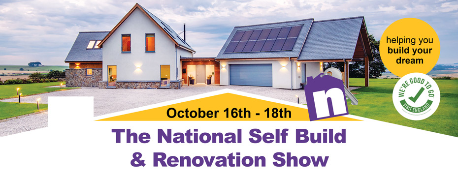 National Self Build and Renovation Show October 2020. Visit Premier Loft Ladders on stand 168