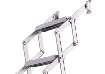 Piccolo Loft Ladder. Easy to fit aluminium loft ladder.